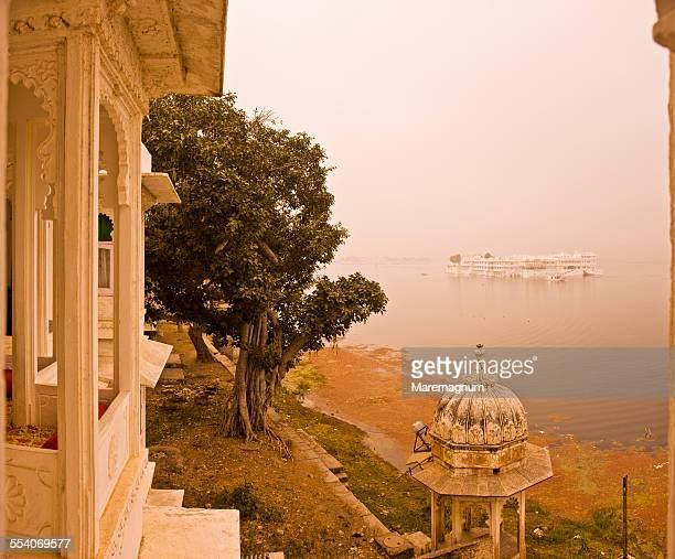 View of Pichola Lake and Lake Palace Hotel