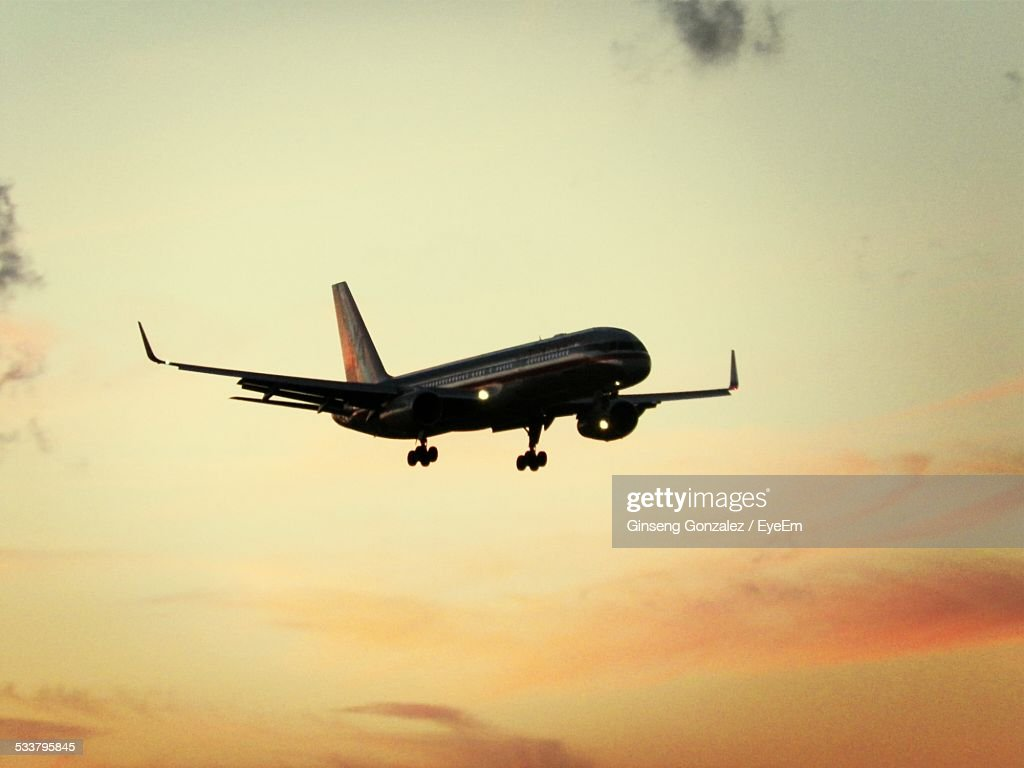 View Of Plane In Air : Foto stock