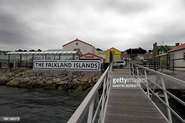 View of Port Stanley in the Falkland Islands on March 27 2012 Next April 2 commemorates the 30th anniversary of the war between Britain and Argentina...