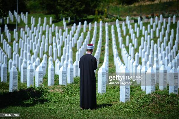 View of Potocari Memorial Center ahead of funeral ceremony of 70 people, who died in the Srebrenica Massacre and will be buried during the 22nd...