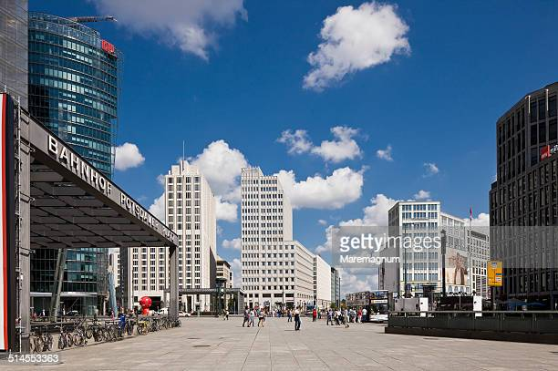 View of Potsdamer Platz (square)