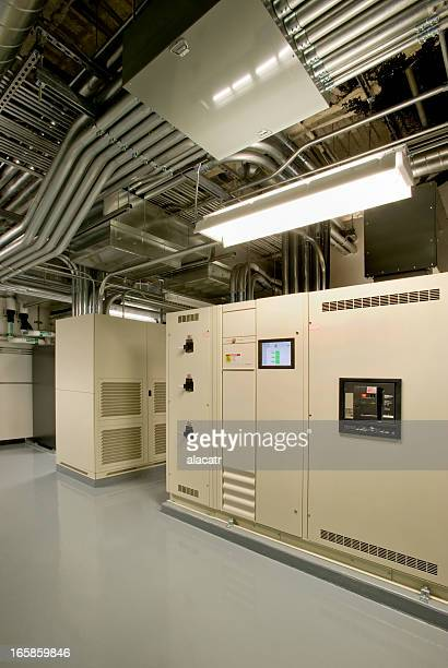 View of power supply electrical room