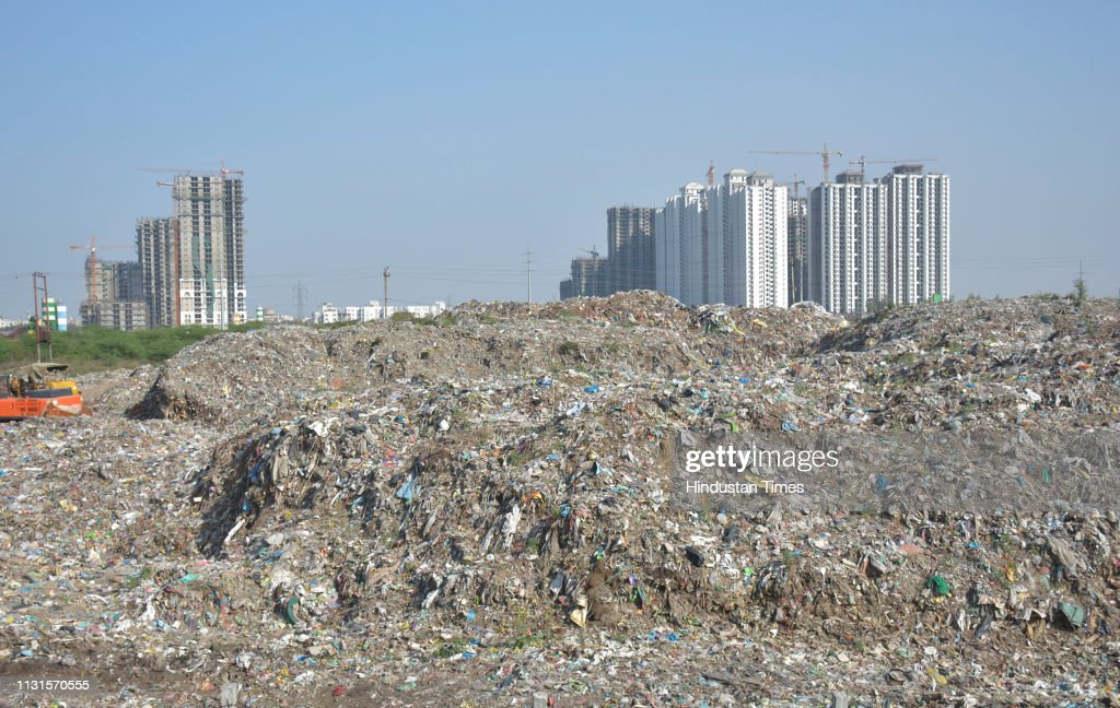 IND: Pratap Vihar Dumping Ground Ghaziabad
