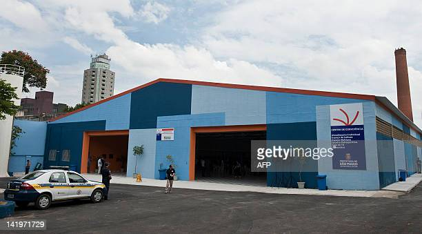 View of Prates Complex a center that will host homeless people alcoholics and drug addicts on March 27 2012 in Sao Paulo Brazil The complex which...