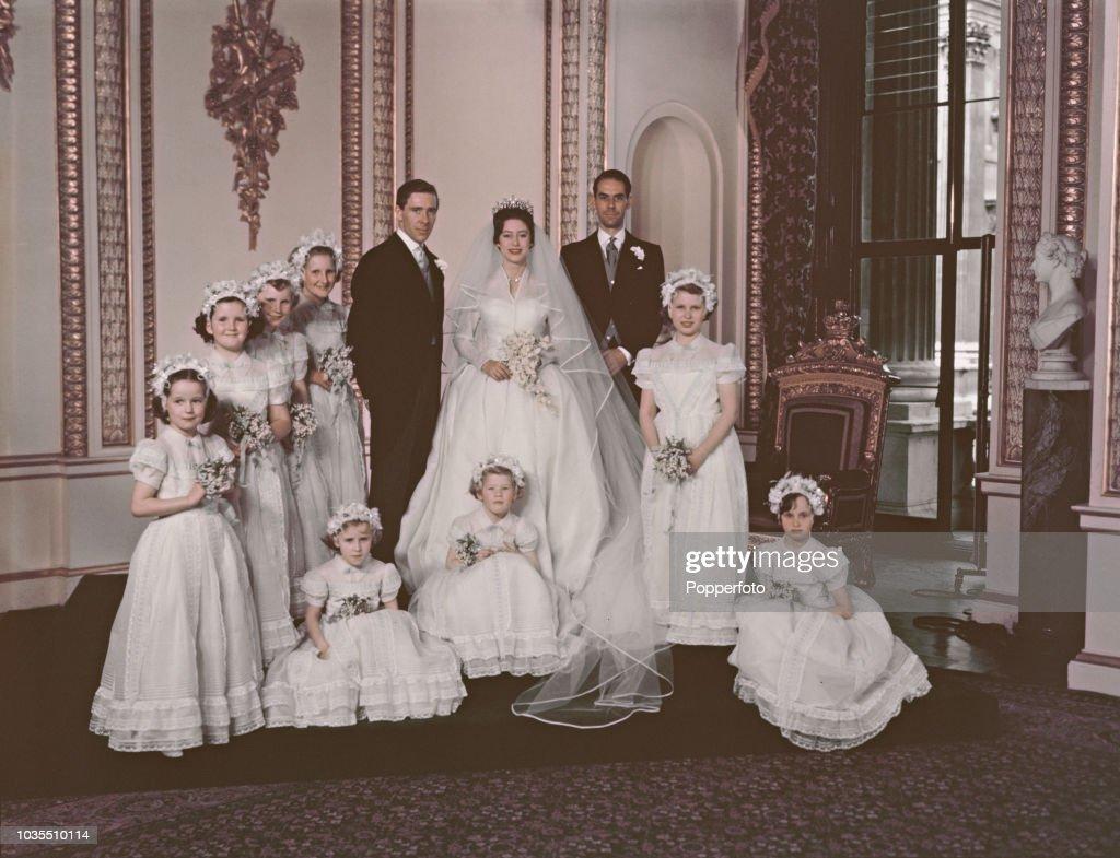 Princess Margaret Wedding Party : News Photo