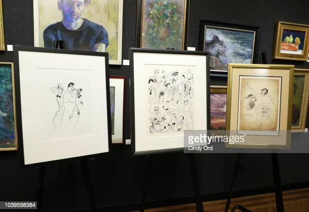 Lewis B Cullman attends as the Al Hirschfeld Foundation celebrates Louise Hirschfeld Cullman at The National Arts Club on September 24 2018 in New...