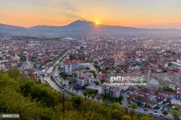 View of Prizren in south of Kosovo