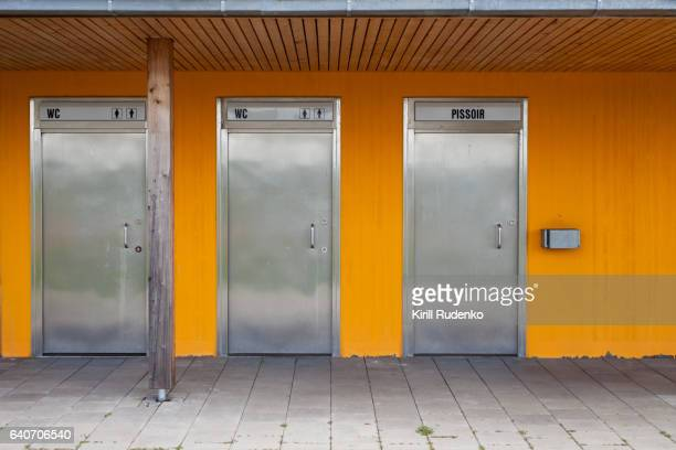 View Of Public Restroom in Germany
