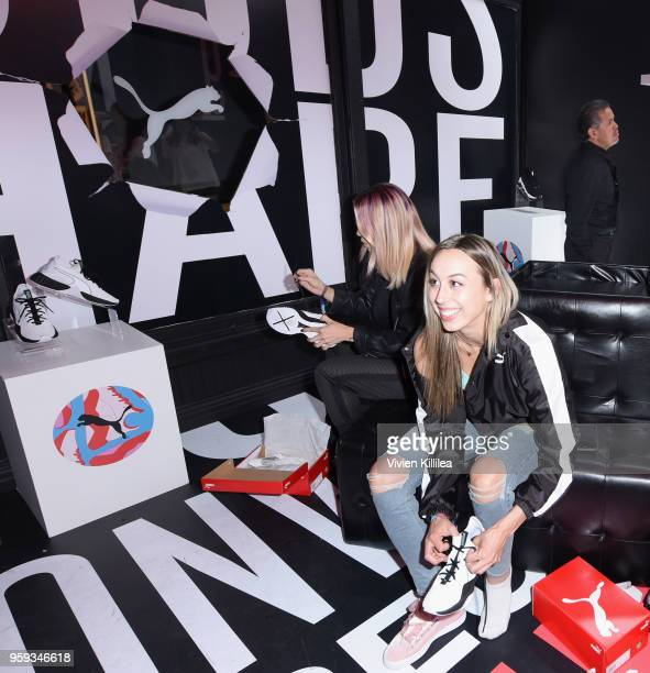 A view of PUMA Defy City at Paramount Studios on May 16 2018 in Los Angeles California
