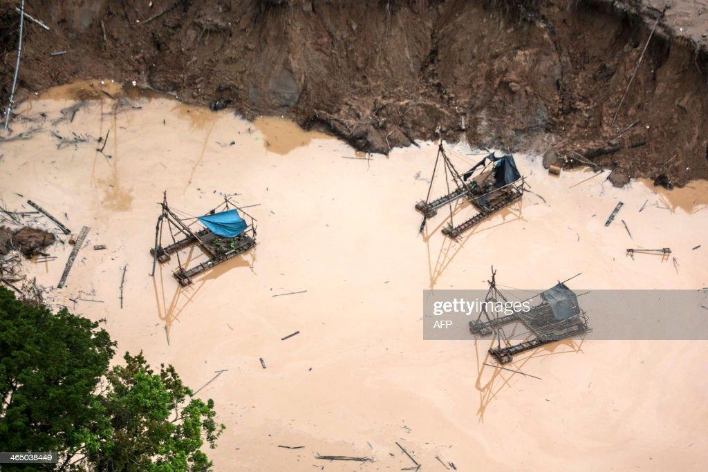 PERU-MINING-OPERATION : News Photo