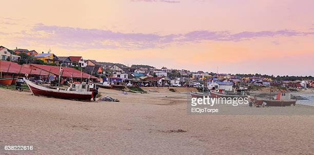 """View of """"Punta del Diablo"""" beach, Rocha, Uruguay"""