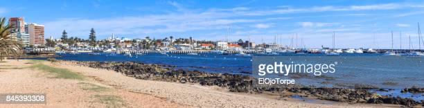 View of Punta del Este's harbor, Uruguay