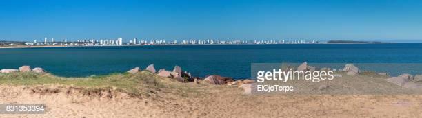 View of Punta del Este's skyline, Uruguay