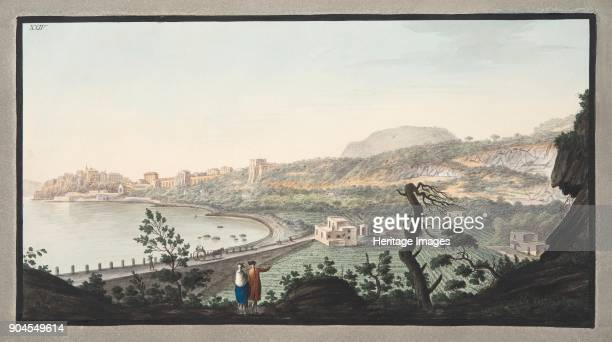View of Puzzoli taken from the spot represented in Plate XIII Plate XXIV from 'Campi Phlegraei Observations on the Volcanoes of the Two Sicilies' by...