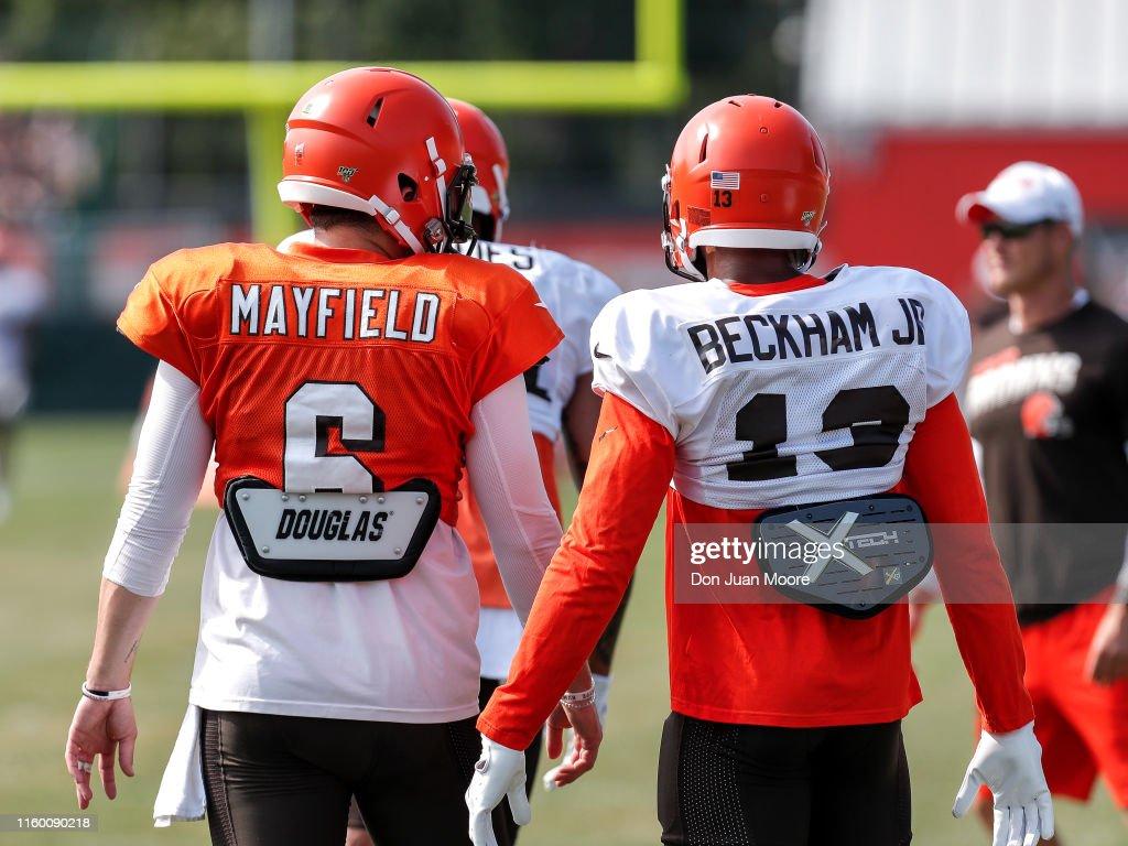 Cleveland Browns Training Camp : ニュース写真