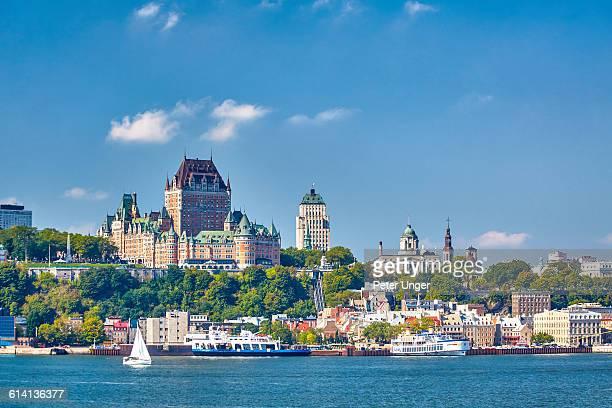 view of quebec city,quebec - ケベック市 ストックフォトと画像