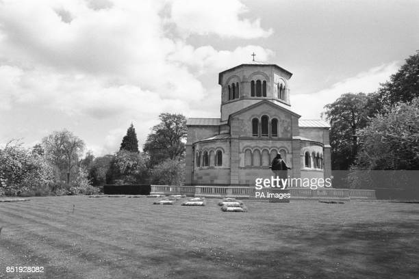 A view of Queen Victoria's Mausoleum at Frogmore in the grounds of Windsor Castle