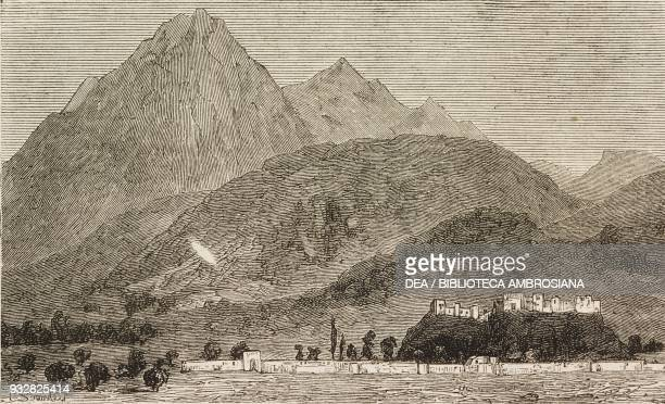 View of Quetta Pakistan Second AngloAfghan War illustration from the magazine The Graphic volume XVIII no 472 December 14 1878