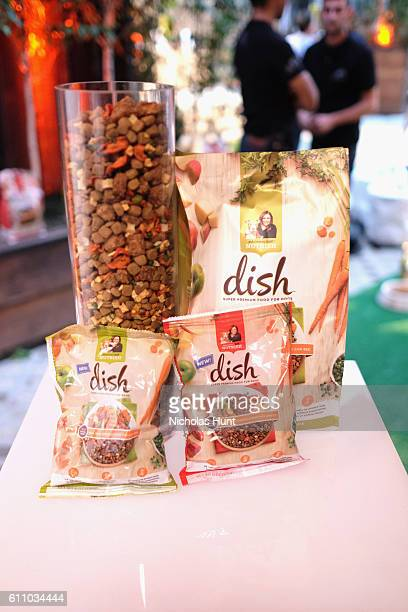 View of Rachael Ray's Nutrish DISH during the celebration of the launch of Rachael Ray's Nutrish DISH with a Puppy Party on September 28, 2016 in New...