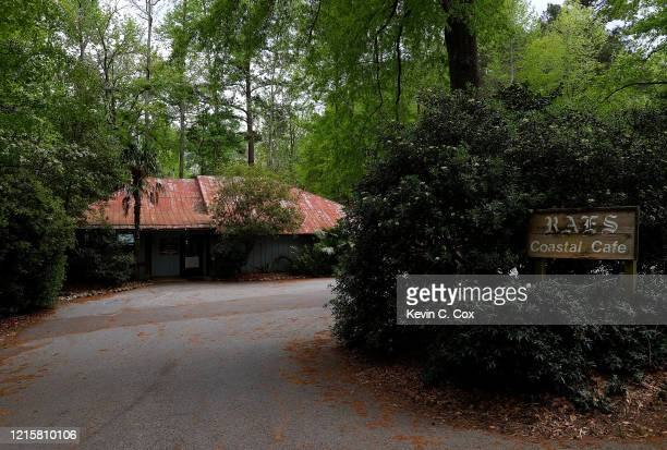 A view of Raes Coastal Cafe as they have changed to curbside service only due to the coronavirus on March 30 2020 in Augusta Georgia The Masters...