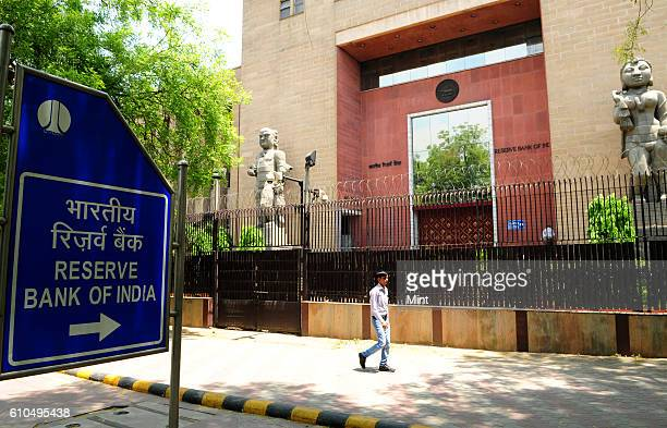 View of RBI buidling on May 3 2013 in New Delhi India