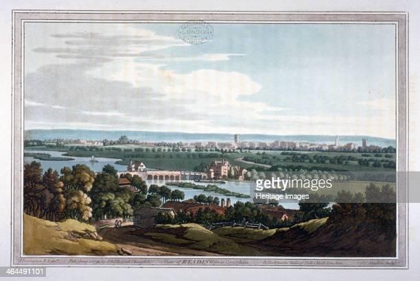 View of Reading from Caversham Berkshire 1793
