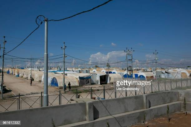 View of refugee camp Kabarto 2 in District Semeel on April 23 2018 in DOHUK IRAQ