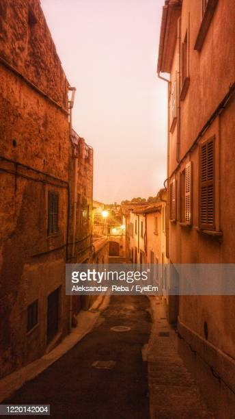 view of residential buildings against sky - palma majorca stock pictures, royalty-free photos & images