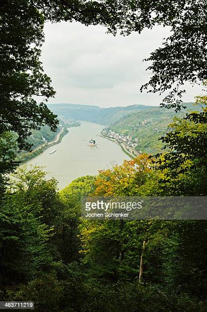 View of Rhine River near Lorch