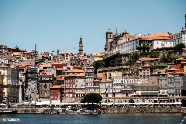 View of Ribeira in Porto from Gaia