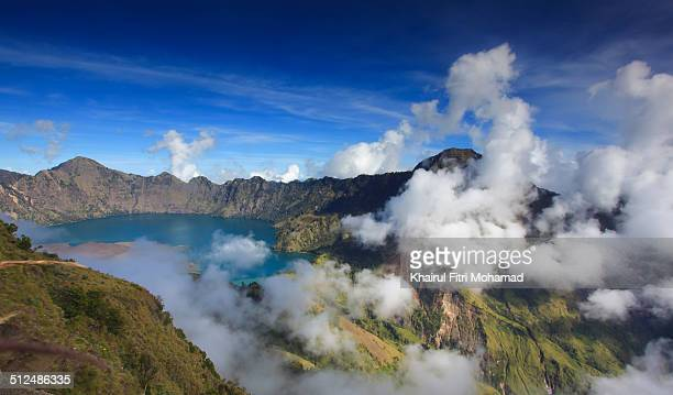 View of Rinjani Mountain