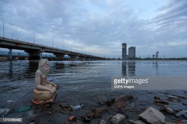 A view of River Yamuna during the coronavirus crisis According to news reports Yamuna river water has become clearer and the river appears to be...