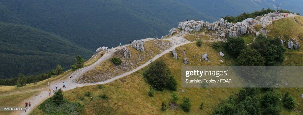 View of road on mountain : Stock Photo