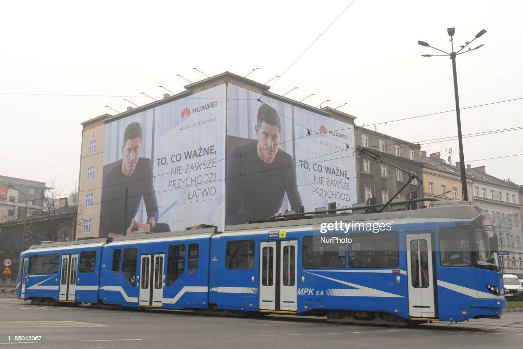 Weather In Krakow : News Photo
