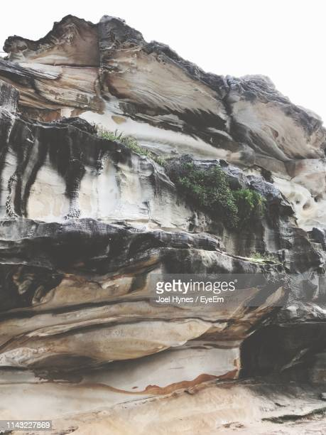 view of rock formations - rock formation stock pictures, royalty-free photos & images
