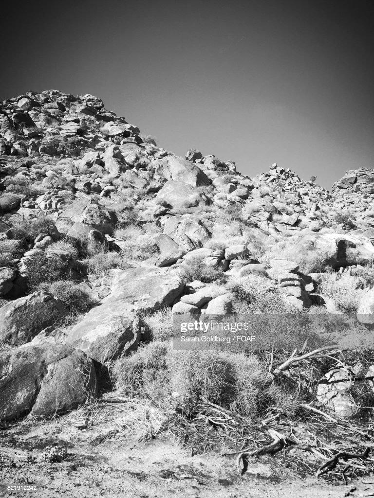 View of rocky mountain : Stock Photo