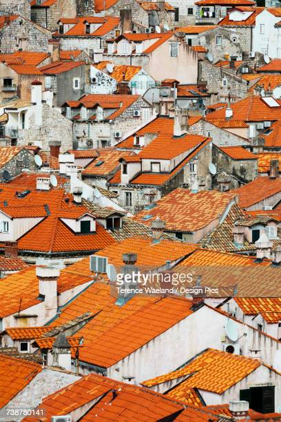 view of rooftops - terence waeland stock pictures, royalty-free photos & images