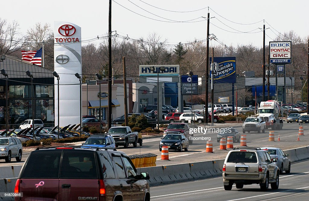 Delightful A View Of Route 46 In Little Falls, New Jersey, With A Toyot :
