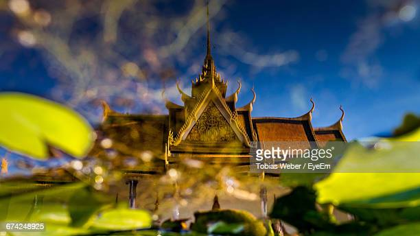 View Of Royal Palace With Golden Roof