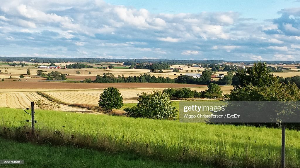 View Of Rural Area : Foto stock
