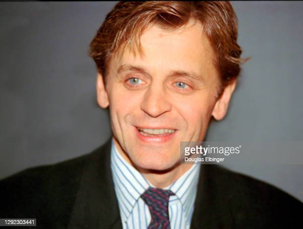View of Russian-born American ballet dancer and actor Mikhail Baryshnikov as he attends a reception at the Breslin Center in East Lansing, Michigan,...