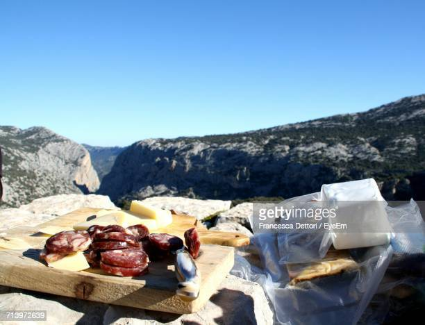 View Of Salami And Mountains