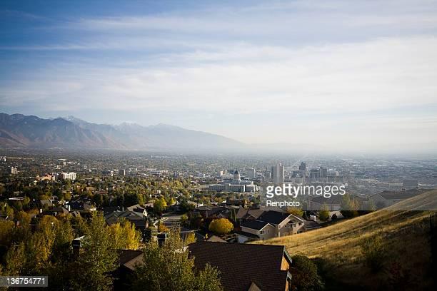 View of Salt Lake City, Utah