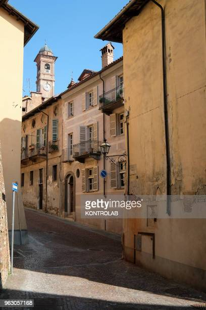 PIEMONTE SALUZZO CUNEO ITALY A view of Saluzzo one of ten most beautiful little villages in Italy Saluzzo is a village of Piemonte region northern...