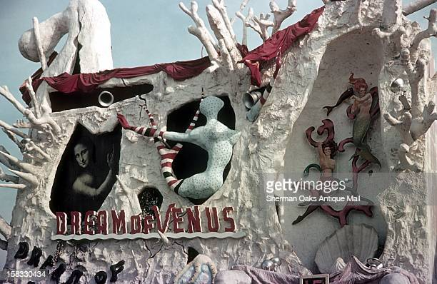 A view of Salvador Dalí's Dream of Venus Pavillion at the 1939 New York World's Fair in Flushing Meadows Queens New York City New York