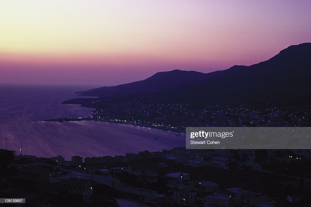 View of Samos, Greece : Stock Photo