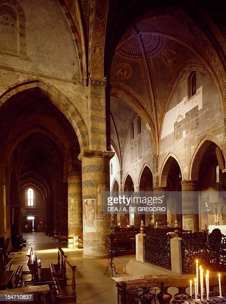View of San Francesco Church Lodi Italy 13th14th century