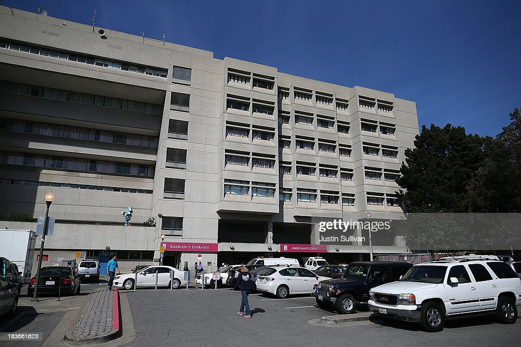 A view of San Francisco General Hospital on October 8, 2013 in San Francisco, California. 57-year-old Lynne Spalding, of San Francisco was believed to have been found dead this morning in a remote stairwell at San Francisco General Hospital after she was reported missing from her hospital room more than two weeks ago. Spalding was last seen on September 21 by hospital employees after she was undergoing treatment for an infection.