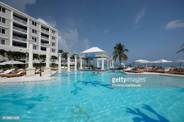 A view of Sandals Royal Bahamian Spa Resort Offshore Island on June 15 2018 in Nassau Bahamas