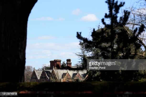 View of Sandringham House on the Sandringham Estate on April 17, 2021 in Sandringham, Norfolk. The Duke of Edinburgh travelled extensively during his...